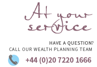 Wealth Planning at your service CTA